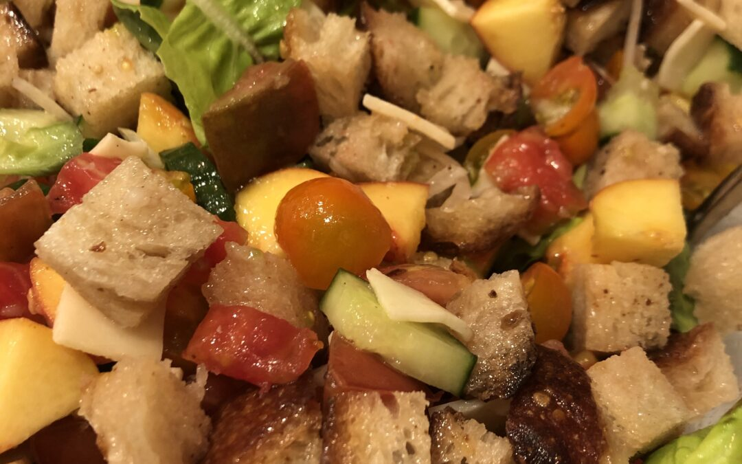 Summer Panzanella Salad Recipe