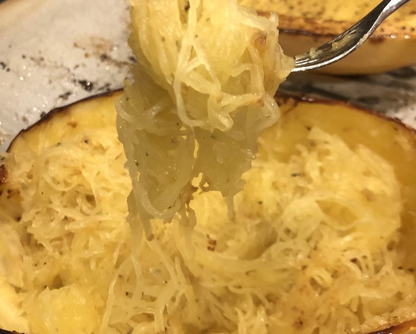 Simple Roasted Spaghetti Squash