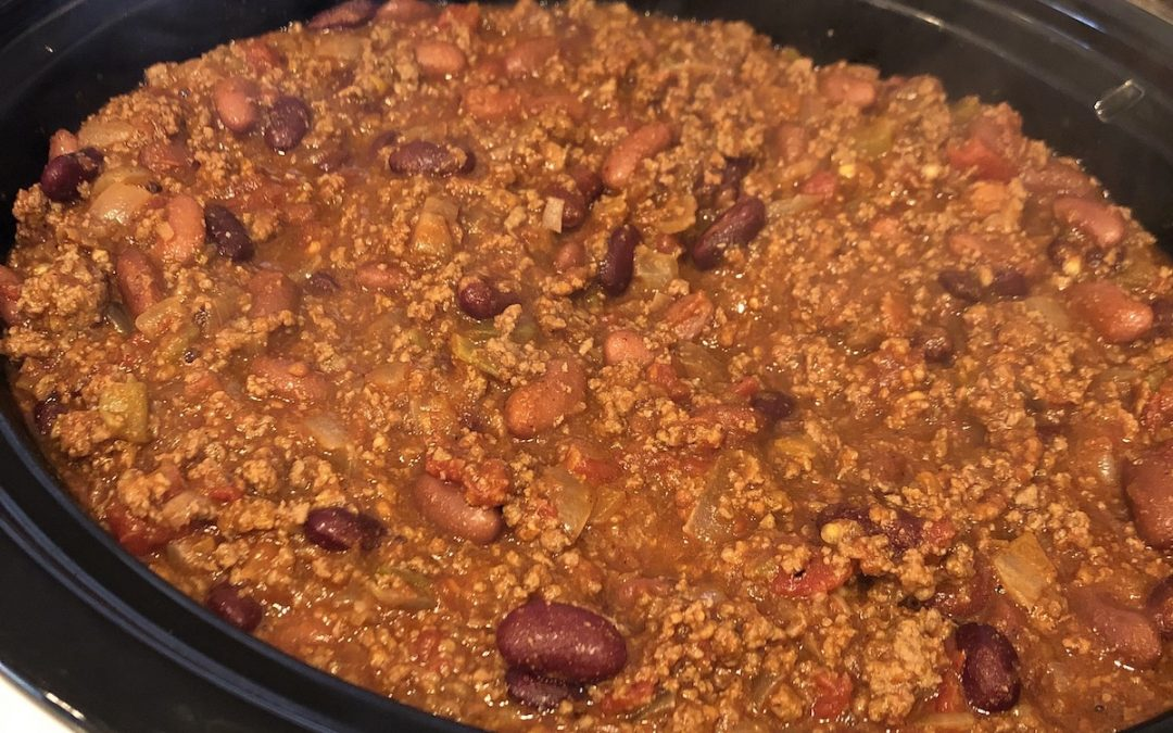 The Easiest Most Delicious Beef and Bean Chili