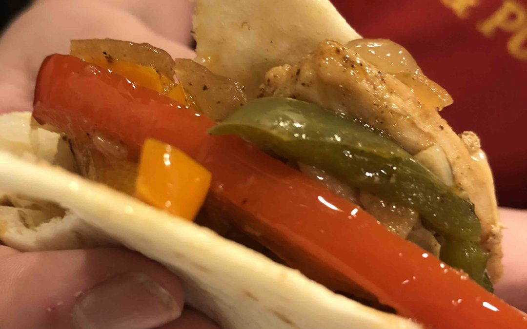 Quick and Simple Chicken Fajitas